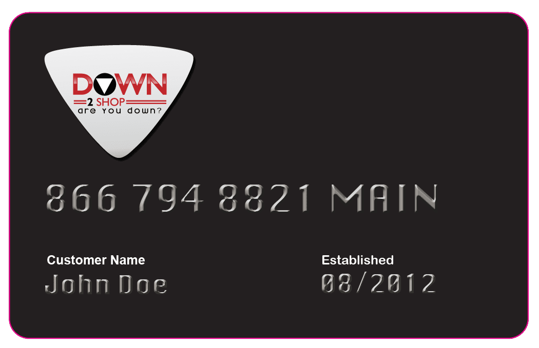 Build your Credit with a Down2shop Credit Card - The Credit Care Company